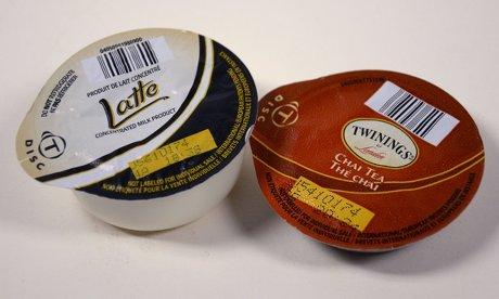 Dos cápsulas Chai Latte de Tassimo