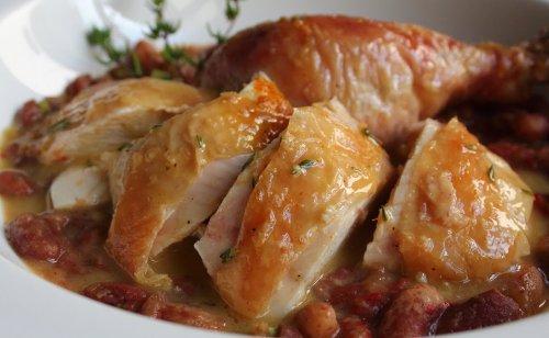 Una receta fácil de pollo en salsa